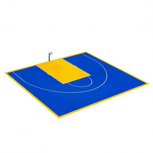 Demi-terrain de Basketball 15 x 11 M   Couleur(s) au choix
