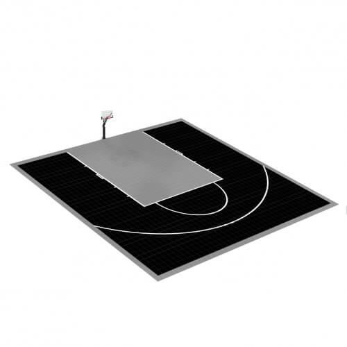 Demi-terrain de Basketball 10 x 11 M | Couleur(s) au choix