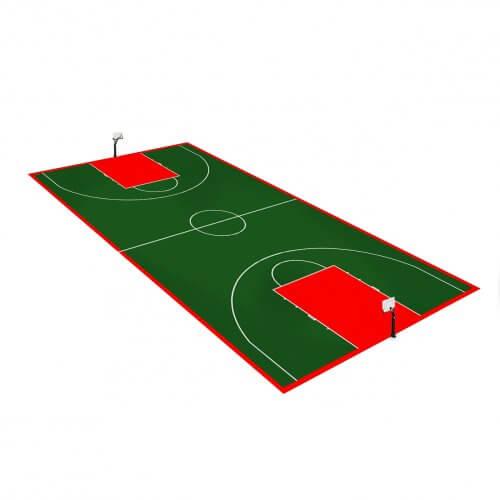Terrain de Basketball 28 x 15 M | Couleur(s) au choix