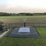 Terrain-basket-avec-panier
