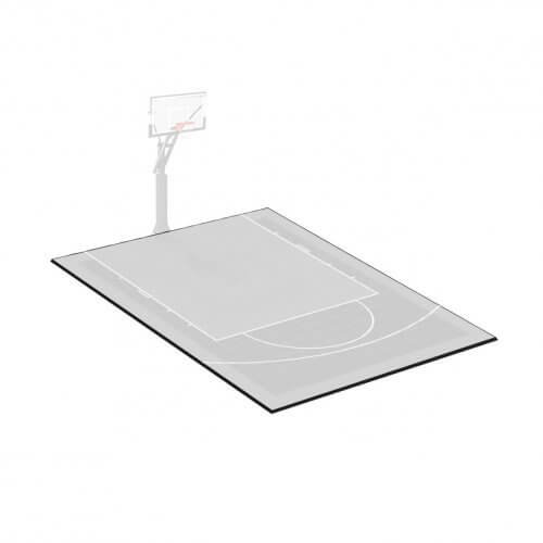 Kit bordures de finition – Terrain de Basket 4 x 5 M – Coloris Noir