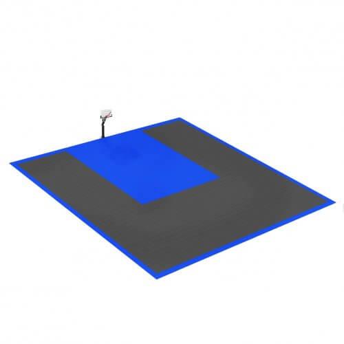 Terrain de Basketball 10 x 10 M | Couleur(s) au choix