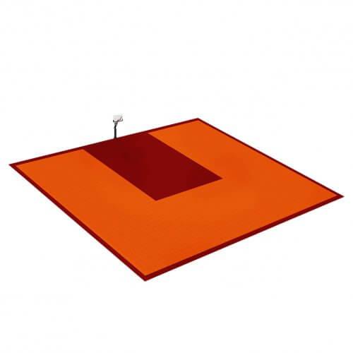 Terrain de Basketball 14 x 10 M   Couleur(s) au choix