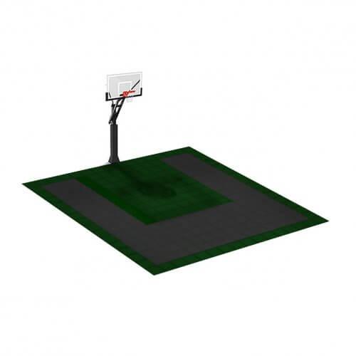 Petit terrain de Basketball 4 x 4 M | Couleur(s) au choix