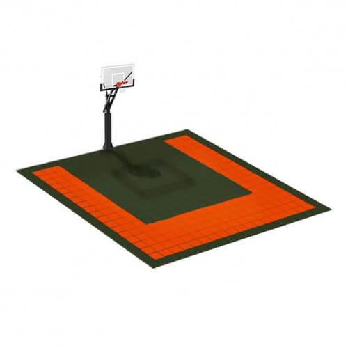 Petit terrain de Basketball 5 x 5 M | Couleur(s) au choix