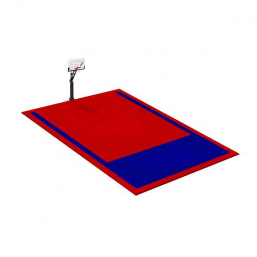 Petit terrain de Basketball 8 x 6 M | Couleur(s) au choix