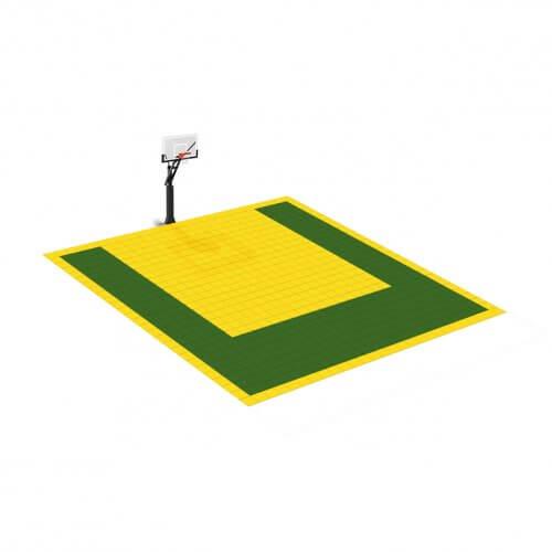 Petit terrain de Basketball 7 x 7 M | Couleur(s) au choix
