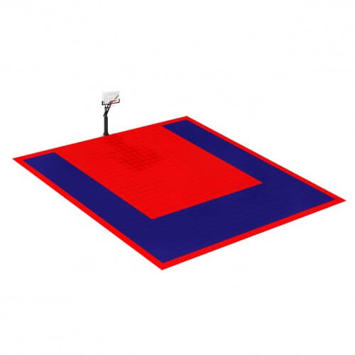 Terrain de Basketball 8 x 8 M | Couleur(s) au choix