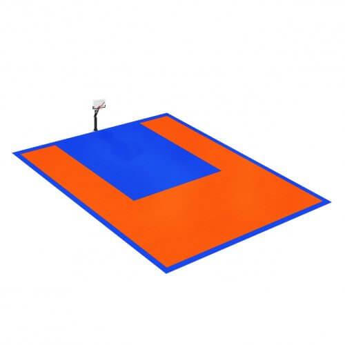 Terrain de Basketball 10 x 9 M | Couleur(s) au choix