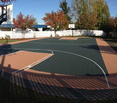 Terrain de Basketball (2) - Galerie - Terrain-basket